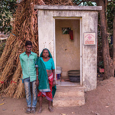 6,431 Toilets installed in needy communities