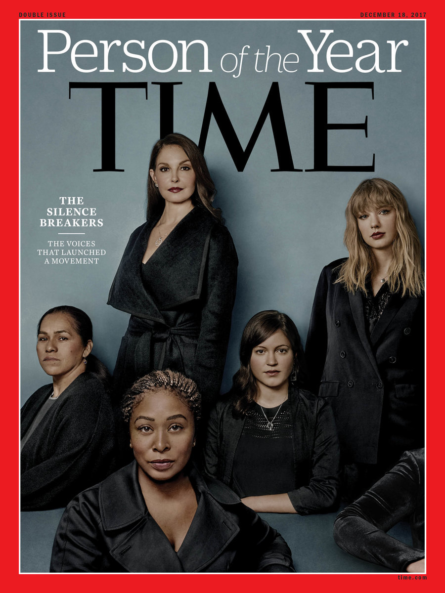 Time Magazine The Silence Breakers