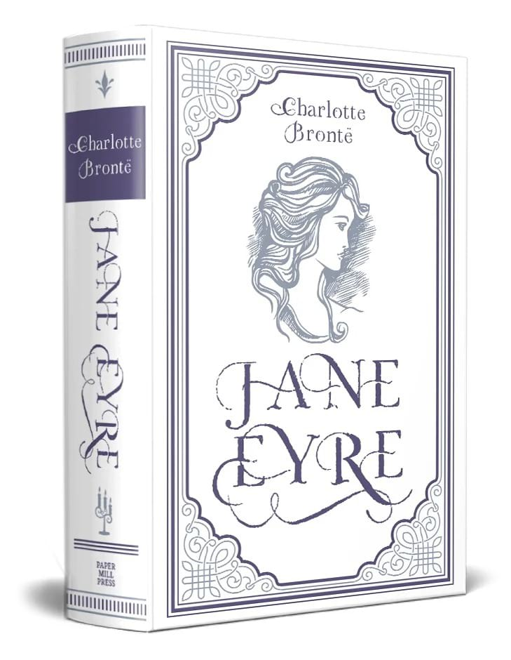 Jane Eyre book graphic