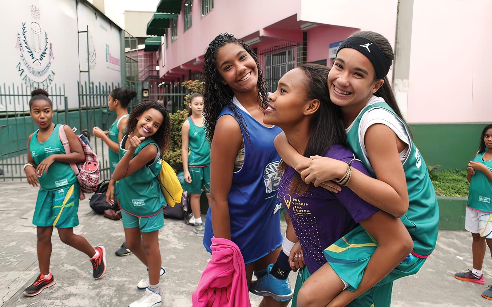 Group of young women / girls