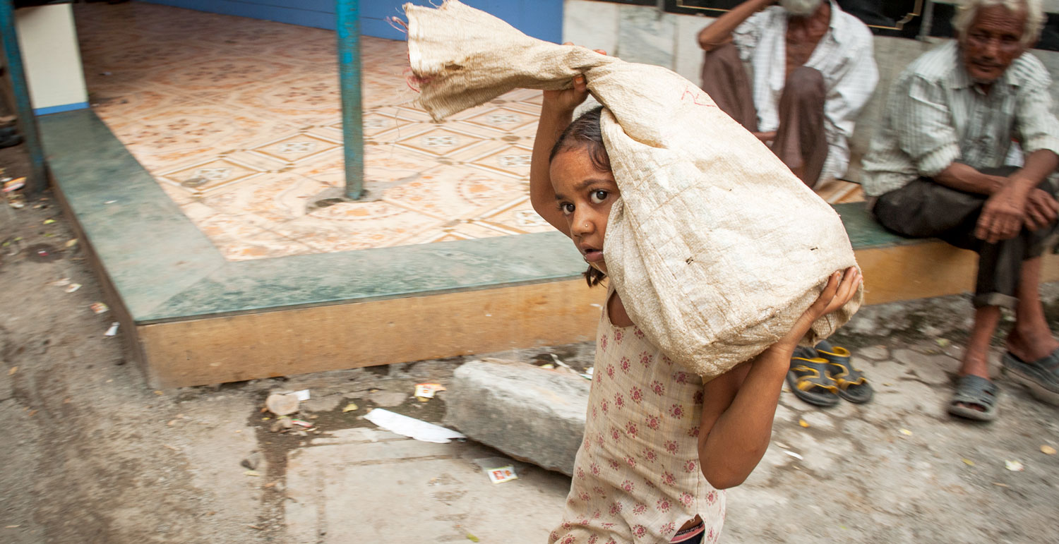 Nearly 170 million children worldwide have to work, half of them in hazardous situations.