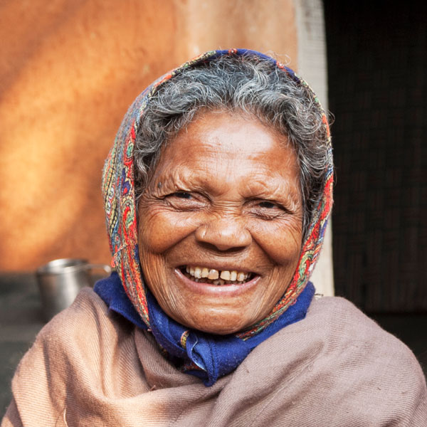 Kishori, a leprosy patient
