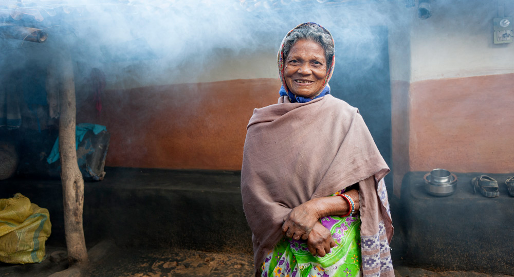 Kaushalya is a cured leprosy patient.