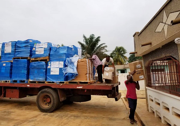 ALM provided 7,091 pounds of critical medicines and supplies to Ghana partners