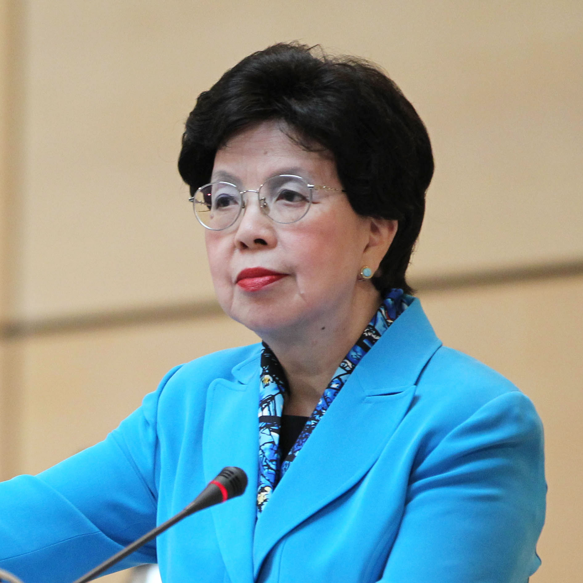 Dr. Margaret Chan of the World Health Organization