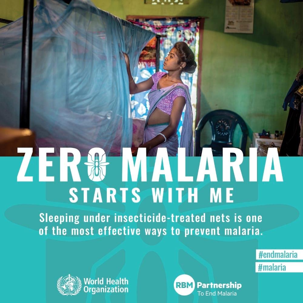Zero Malaria Starts with Me