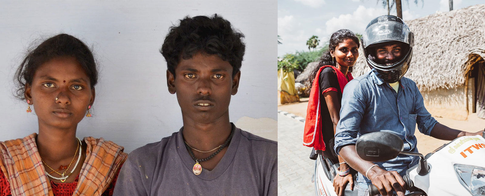 This husband and wife were trapped in slavery, who, after their rescue are now helping to rescue others.