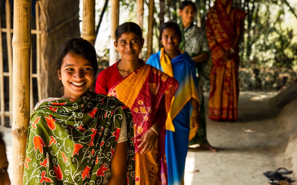 Women in tailoring class